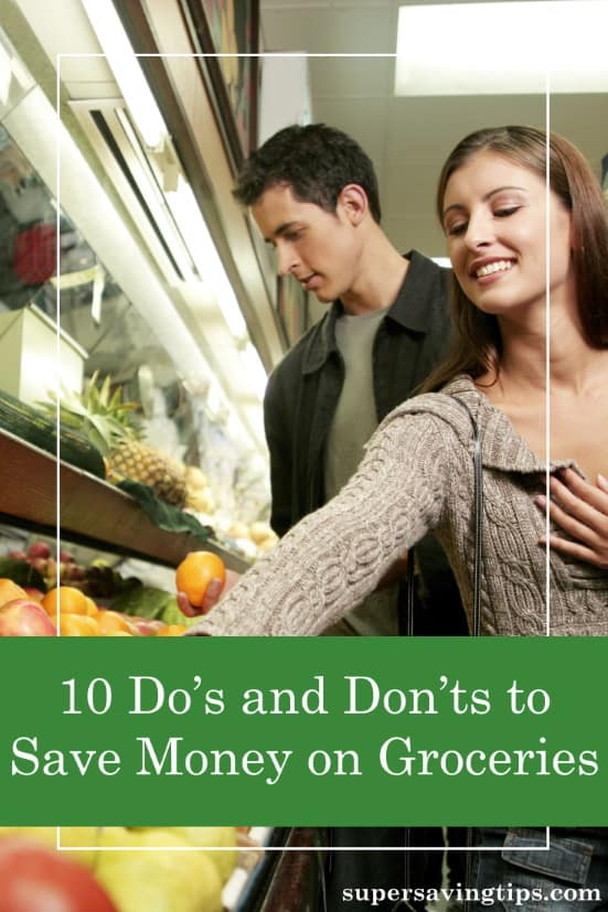 While good planning is the key to save money on groceries, there are still things you can do to limit your spending while you're shopping at the store.