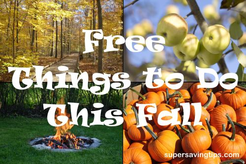 Free Things to Do This Fall