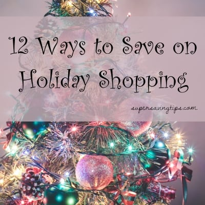 Save on Holiday Shopping