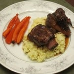 Short Ribs with Red Wine