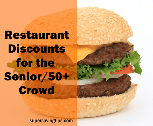 Senior Discounts at Restaurants