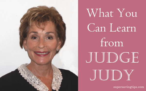 What You Can Learn From Judge Judy