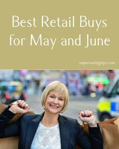 Best Sales for Spring