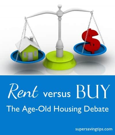 Rent versus Buy: The Age-Old Housing Debate