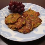 Bacon, Zucchini, and Carrot Fritters