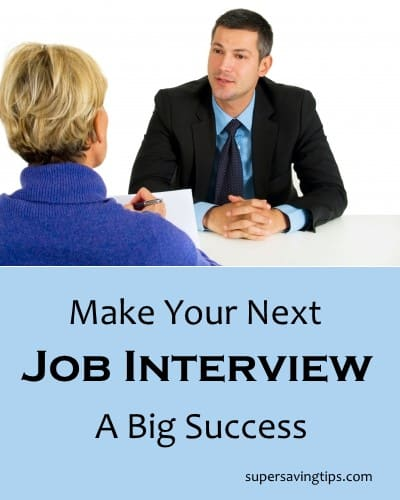 Make Your Next Job Interview A Big Success