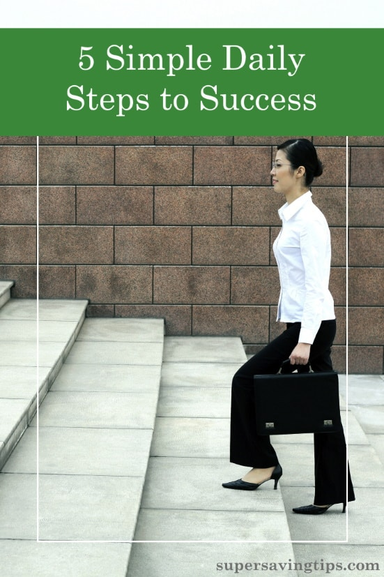 If you're looking to succeed, start by emulating the habits of successful people. These simple daily steps to success will help you reach your goals.
