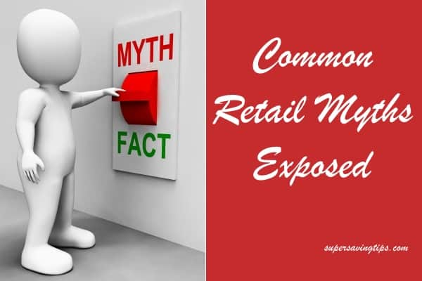 Common Retail Myths Exposed