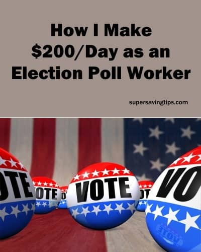 How I Make $200/Day as an Election Poll Worker