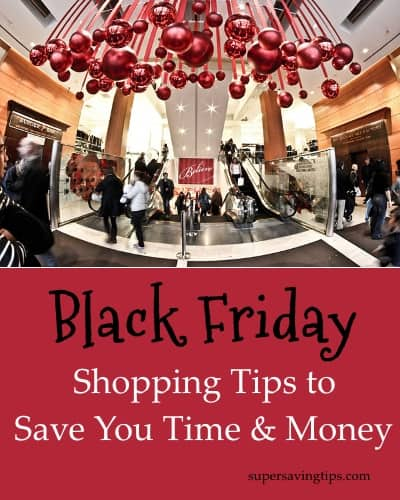 Black Friday Shopping Tips to Save You Time & Money