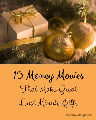 15 Money Movies That Make Great Last Minute Gifts