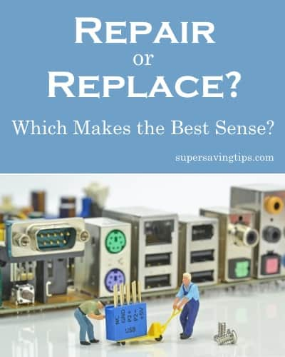 Repair or Replace? Which Makes the Best Sense?