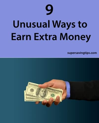 9 Unusual Ways to Earn Extra Money