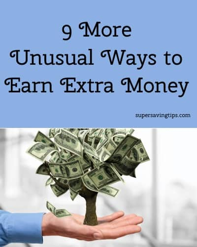 9 More Unusual Ways to Earn Extra Money