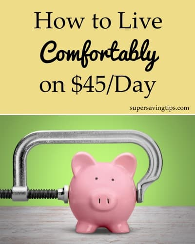 How to Live Comfortably on $45/Day