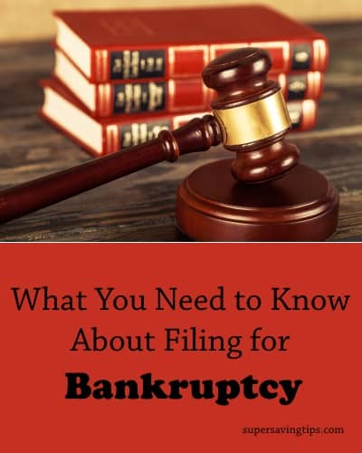 What You Need to Know About Filing for Bankruptcy