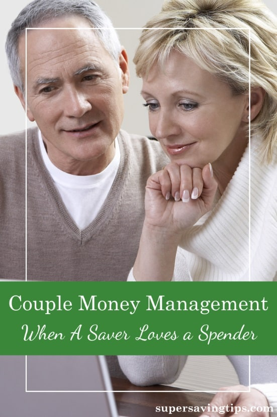 To excel at couple money management, you need to compromise, even if one of you is a saver and the other is a spender. Here's how to do it without fighting.