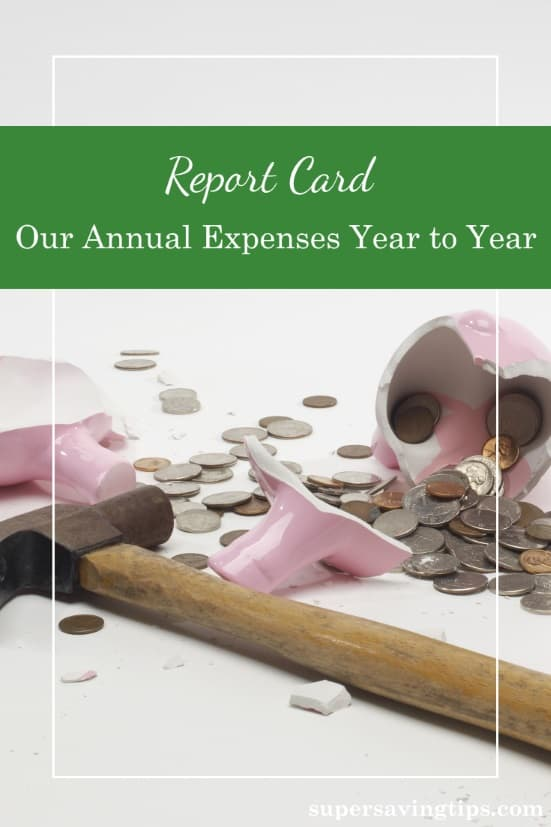 I think everyone's a little curious about how others manage their expenses. Here is our report card: how we spent our money for the past 5 years.