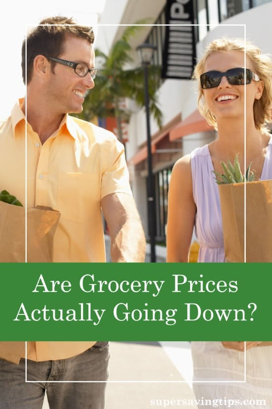 After years of high food costs, could grocery prices actually be going down? Here's what's going on, what it affects, and how to take advantage.