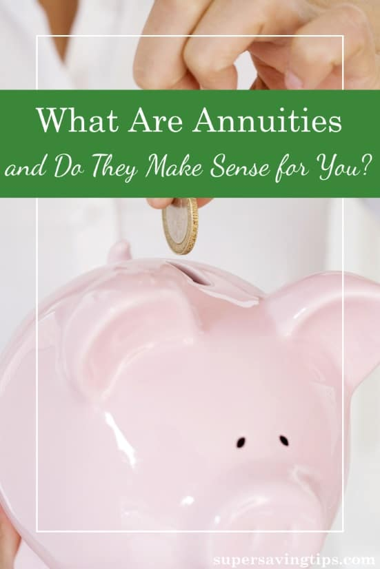 Annuities can be confusing and have a pretty bad rep. But you should understand what annuities are before deciding on whether they're right for you.