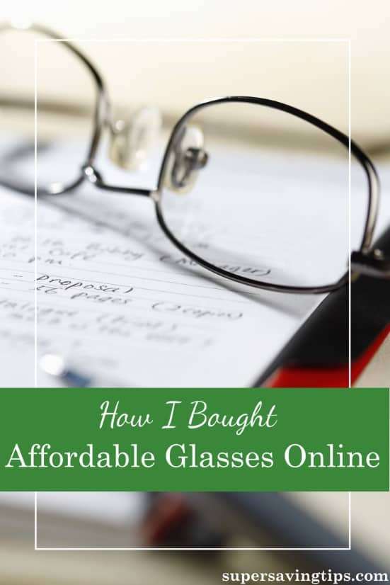 If you're in the habit of buying your glasses in a store, check out my experience of buying affordable glasses online at Zenni Optical.