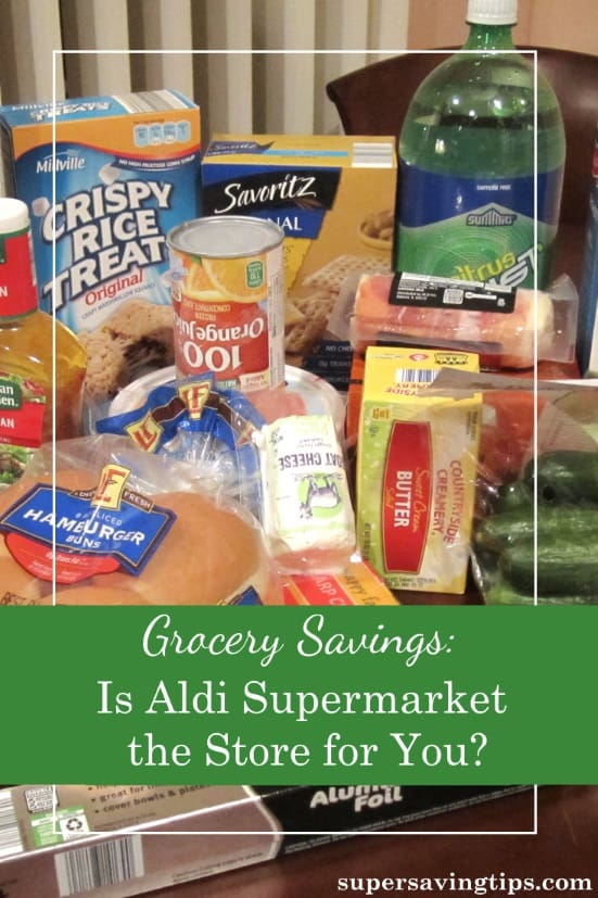 I love to save money on groceries, so you may be surprised that I've never been to an Aldi supermarket before. Check out my first shopping trip there.