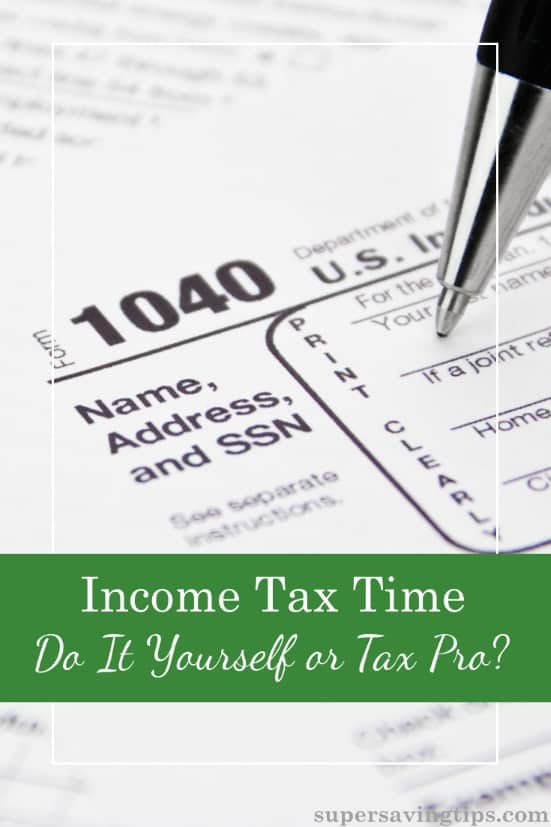 It's time to get those income tax returns rolling. Are you going to hire a tax pro or DIY with online tools and software? Here's how to decide.