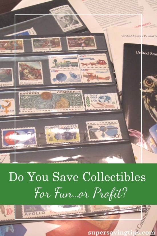 Gathering collectibles like stamps or coins can be a fun hobby, but some people collect with the hopes of making a profit. Can it really be profitable?