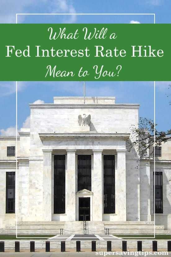 On Wednesday, it's pretty likely that we'll see a Fed interest rate hike. Here's what that means for the different areas of your financial future.