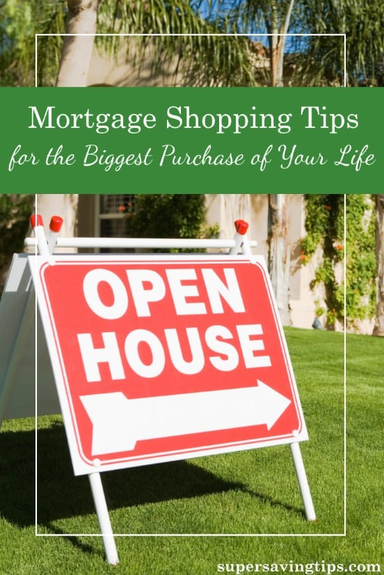 It's house hunting season and if you're looking to buy, you could probably use some mortgage shopping tips. Save money on the biggest purchase of your life!
