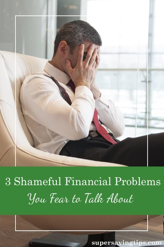 Sometimes financial problems are embarrassing and we're afraid to share them with loved ones. But getting help is better than trying to work it out alone.