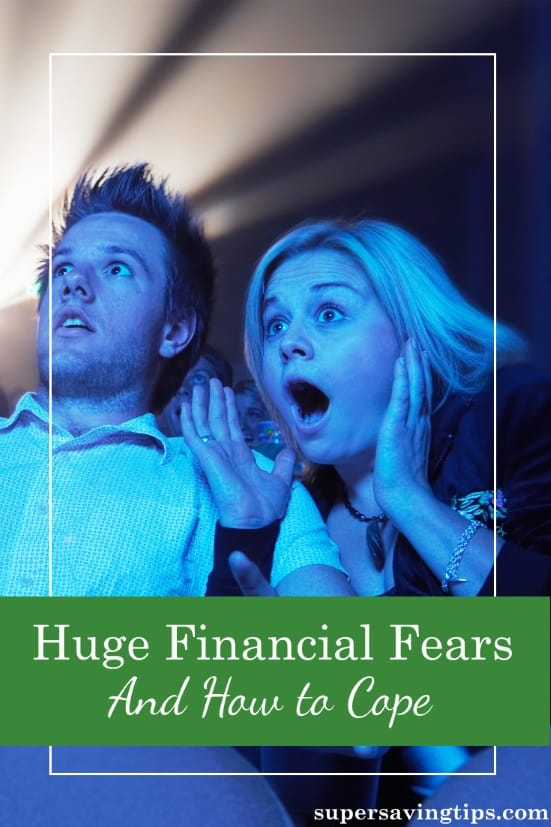 Financial fears can fill your life with worry and misery. But rather than worrying about what might happen, here's how to do something about it.