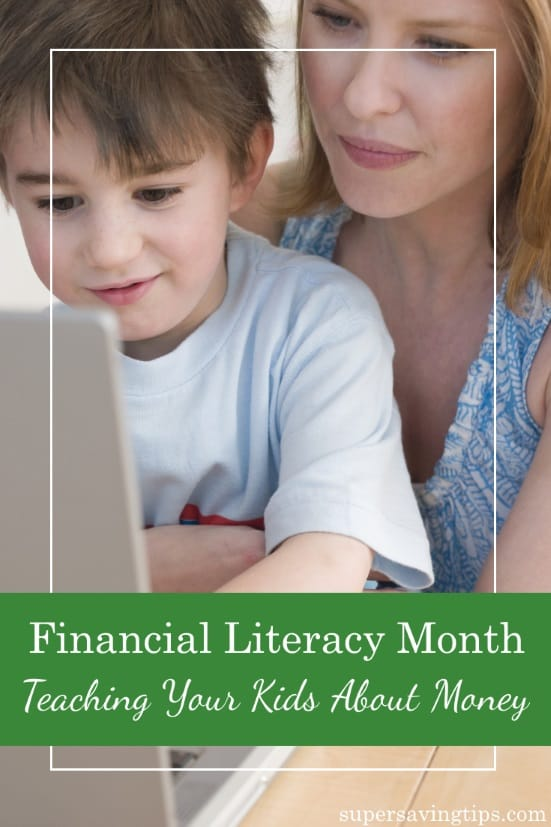 April is Financial Literacy Month and there's no better time to teach financial literacy for kids and adults. Here's how kids can learn more about money.