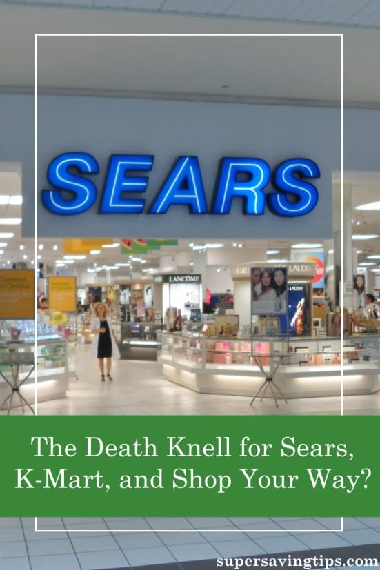 Is Sears going out of business? Here's my thoughts on the history and current status of Sears and K-Mart, and why the Shop Your Way program is doomed.