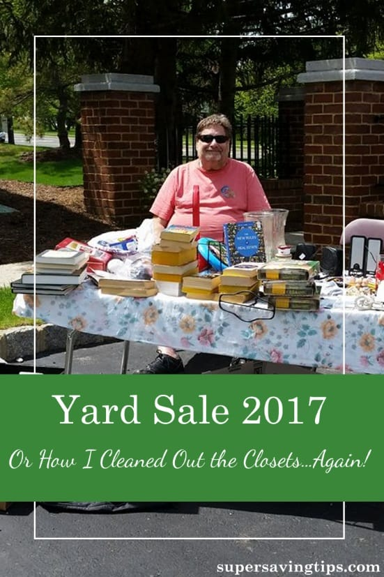 We all have too much stuff, but there's a solution...have a yard sale! Here's some tips on having a successful sale and how my yard sale went.