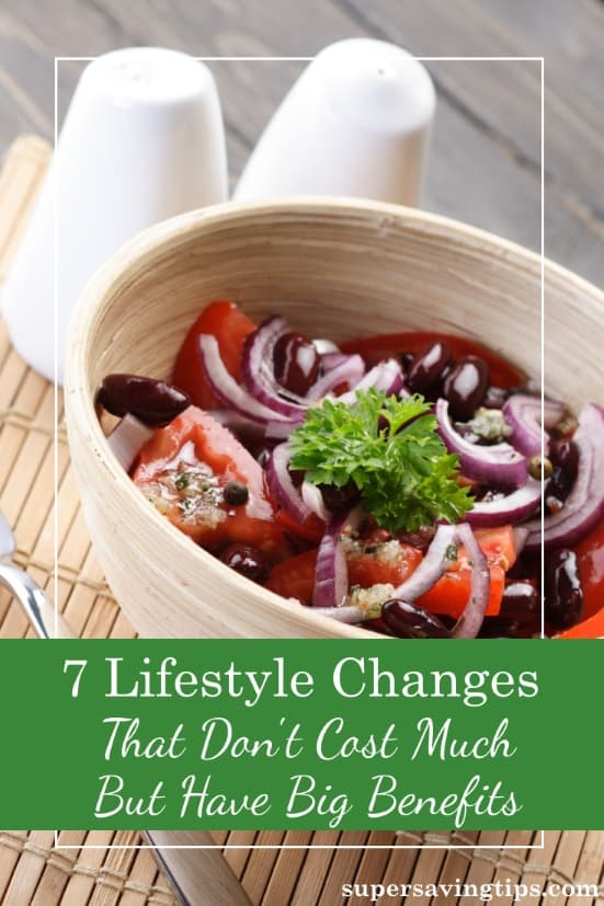 If you want to improve your health, you don't necessarily have to spend a lot. Check out these 7 affordable lifestyle changes to boost your well-being.