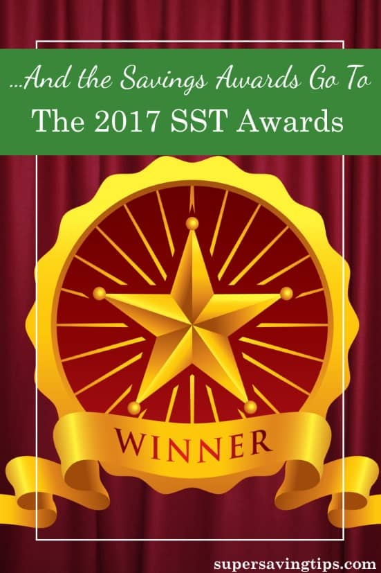 The SST Awards are my attempt to give savings awards to the businesses and products that save you money and provide you with the best quality and service.