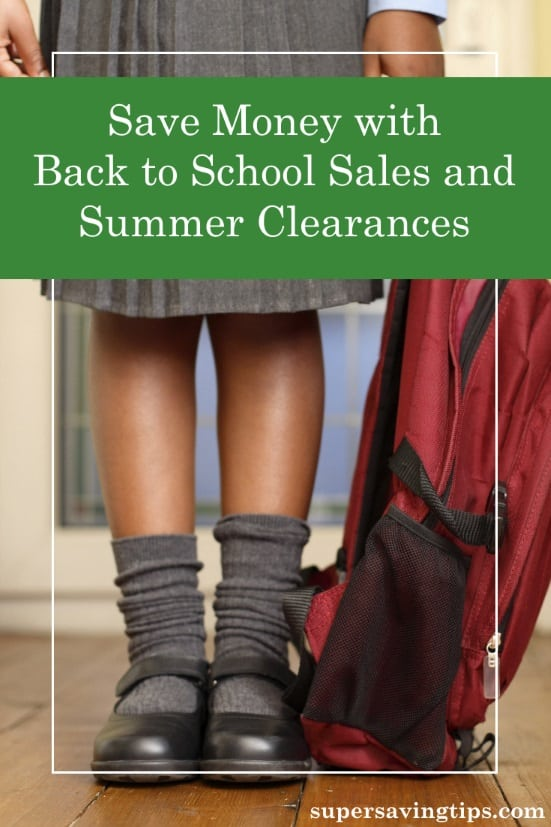 You're still enjoying summer, but August is the time for Back to School sales and summer clearances. Here's how to save money while getting ready for fall.