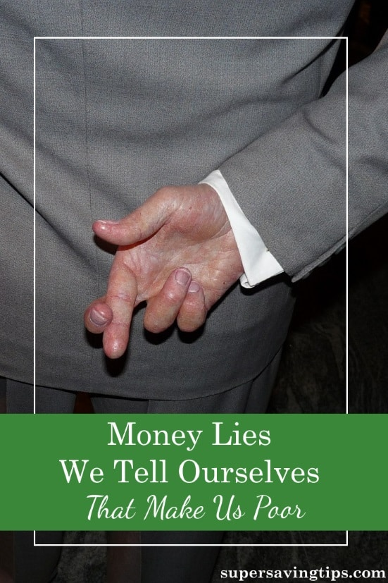 If you're not honest with yourself about your finances, your money lies will keep you poor. Here are 7 money lies we tell ourselves and how to face them.