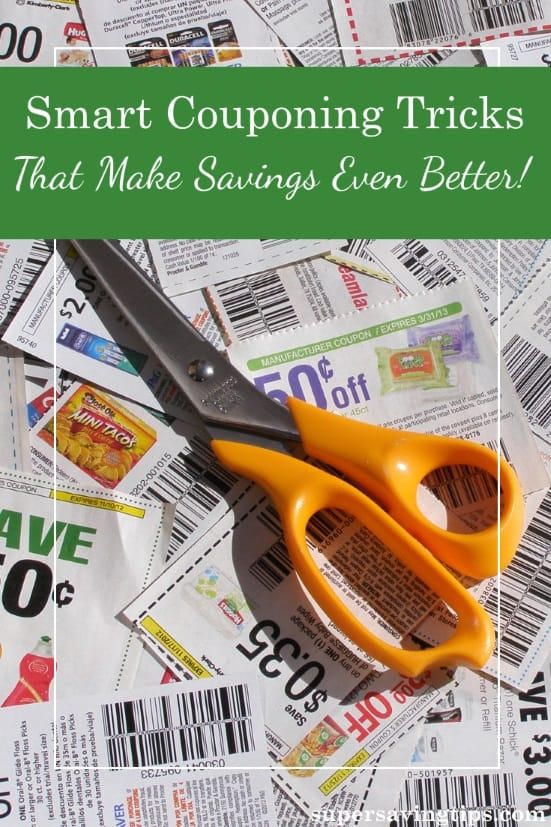 Coupons can save you money, but these coupon tricks can save you even more. Check out these 7 strategies to make your money go further at the supermarket.