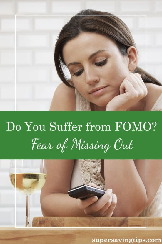 FOMO, or fear of missing out, can cause us to focus on social media instead of the goals that are truly important to us. Don't let FOMO hold you back.