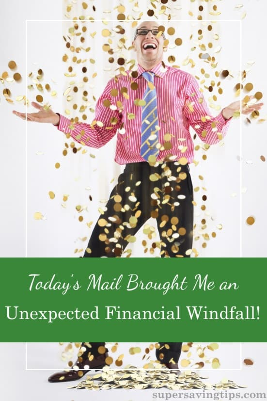 I am thrilled to receive an unexpected financial windfall, but I should have known it was coming. Make sure you know what your retirement situation will be.