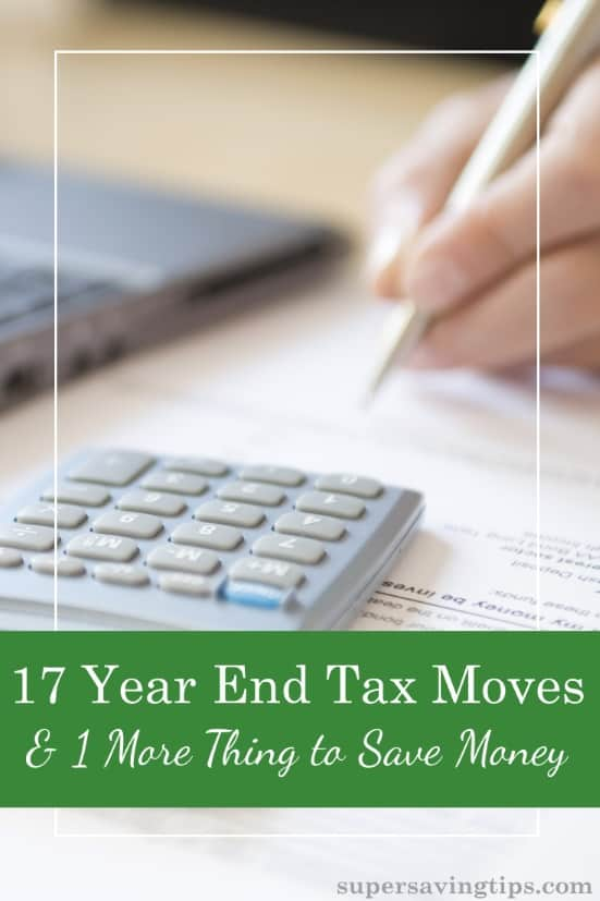 If you want to maximize your income tax returns for 2017, the time to act is now with these year end tax moves, before any possible changes from a tax bill.