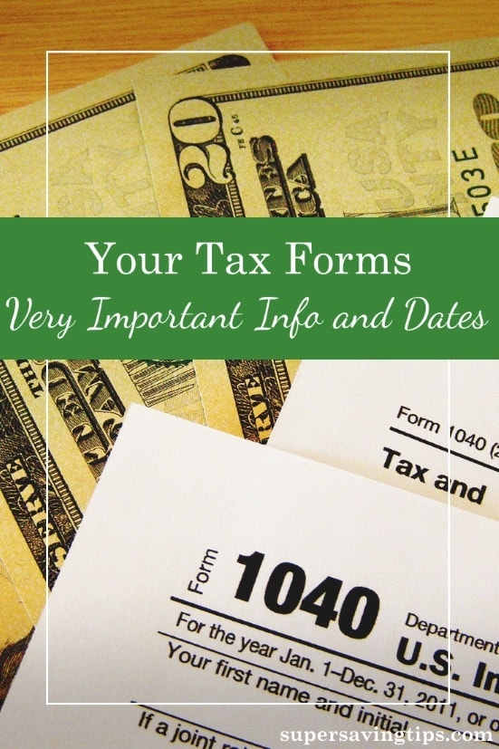It's important to understand when to expect your tax forms to file your 2017 taxes, as well as how to fill out your 2018 tax forms. Here's the details you need to know.