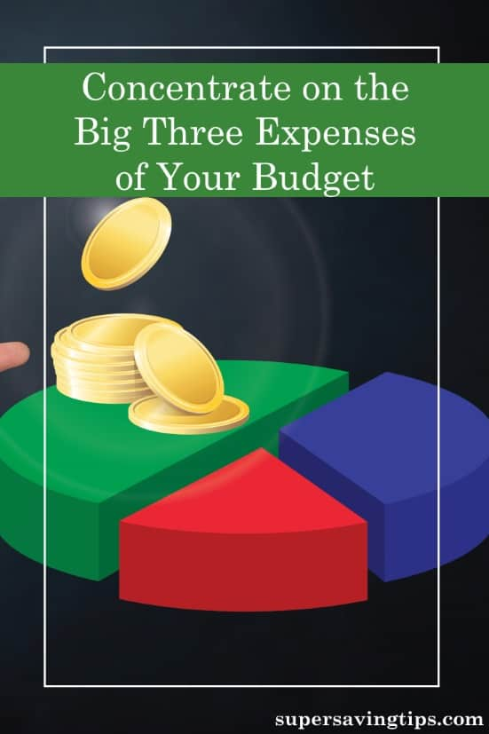 When you're trying to get free from debt, little things matter, but concentrating on the big three expenses of your budget is the way to go. Here are the steps to take to eliminate debt from your life.