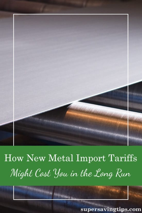 The current administration has moved forward with it's promise of import tariffs on steel and aluminum, but what affect could this have on your finances? Here's a look at what could happen as a result of this new policy.