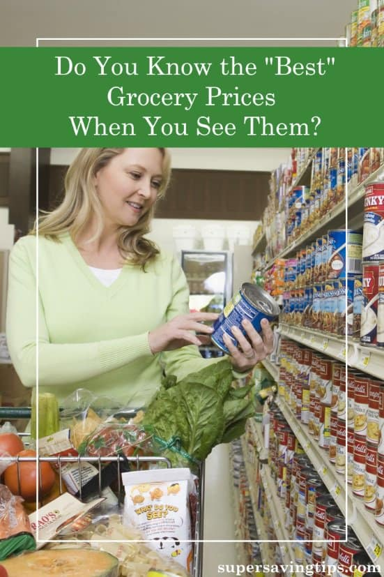 "To be a savvy supermarket shopper, you need to know the ""best"" grocery prices so you know when to stock up. In this post, I'll explain why and then test you on some common grocery prices to determine if you know the best price when you see it."