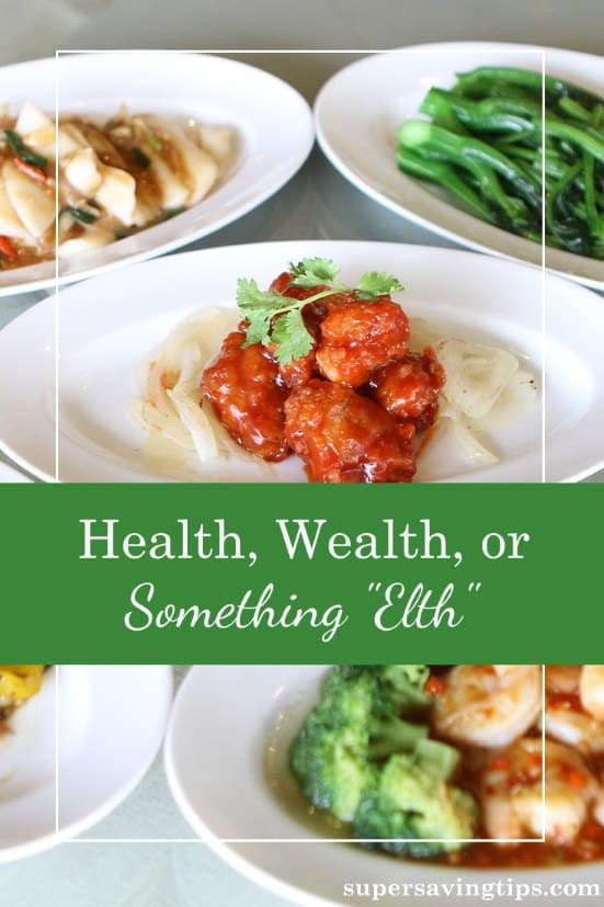 If life were like a Chinese menu, with choices from column A and column B, what would you select? Are you working in real life to obtain these life choices?