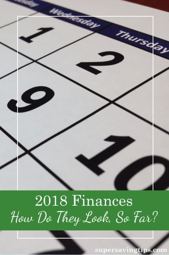 So we're 5 months into the year, and now is a good time to see where we are when it comes to finances. Today's post looks at how the new tax law is affecting income, and how inflation is affecting expenses.