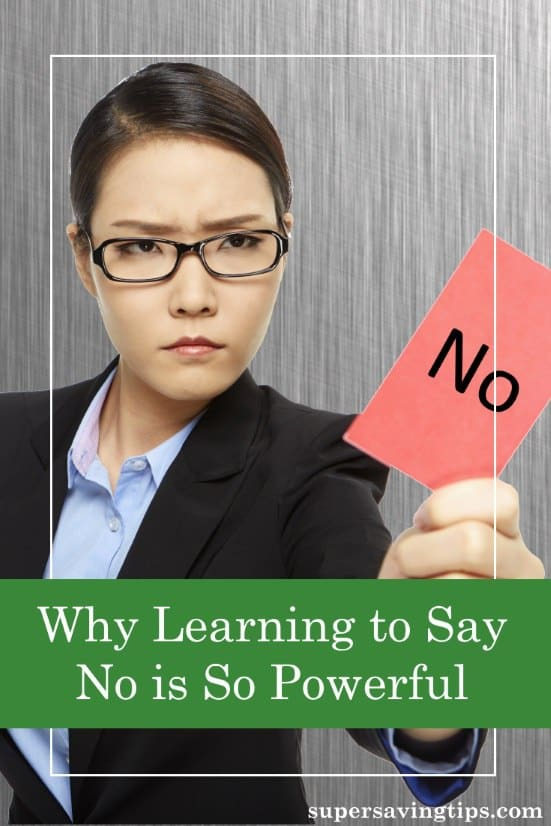 As part of our quest for success, we are often conditioned to say yes to every opportunity. But learning to say no gives us the power to determine what's valuable to our work and personal lives. Here's why I'm learning to say no as my default answer.